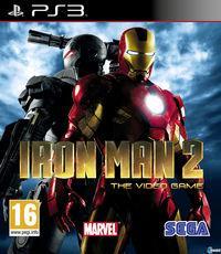 Portada oficial de Iron Man 2 para PS3
