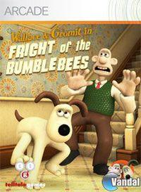 Portada oficial de Wallace and Gromit's Grand Adventures Episode 1: Fright of the Bumblebees XBLA para Xbox 360