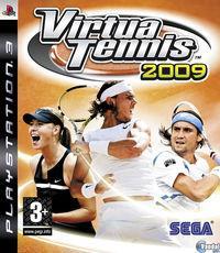 Portada oficial de Virtua Tennis 2009 para PS3