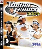 Portada oficial de de Virtua Tennis 2009 para PS3