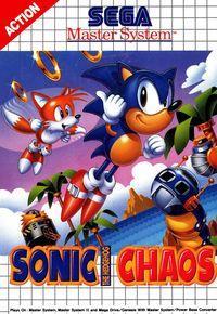 Portada oficial de Sonic Chaos CV para Wii