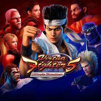 Portada oficial de Virtua Fighter 5: Ultimate Showdown para PS4