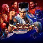 Portada oficial de de Virtua Fighter 5: Ultimate Showdown para PS4