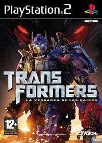 Portada oficial de Transformers: La Venganza de los Caídos – El Videojuego para PS2