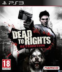 Portada oficial de Dead to Rights: Retribution para PS3