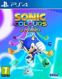 Portada oficial de Sonic Colours: Ultimate para PS4
