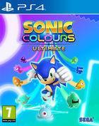 Portada oficial de de Sonic Colours: Ultimate para PS4