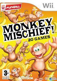 Portada oficial de Monkey Mischief para Wii