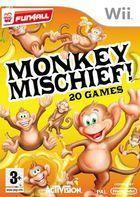 Portada oficial de de Monkey Mischief para Wii