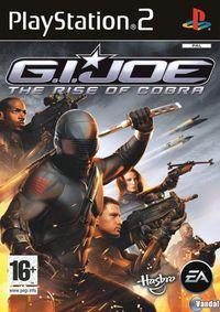 Portada oficial de G.I. JOE The Rise of Cobra para PS2