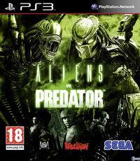 Portada oficial de Aliens vs. Predator para PS3