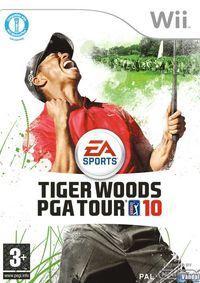 Portada oficial de Tiger Woods PGA Tour 10 para Wii
