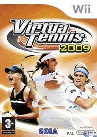 Portada oficial de Virtua Tennis 2009 para Wii