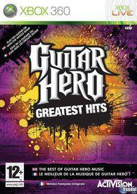 Portada oficial de Guitar Hero: Greatest Hits para Xbox 360