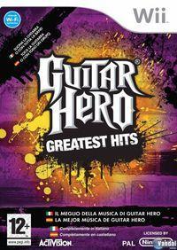Portada oficial de Guitar Hero: Greatest Hits para Wii