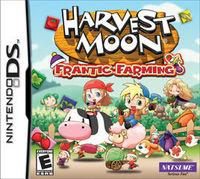 Portada oficial de Harvest Moon: Frantic Farming para NDS