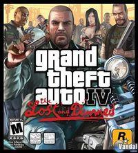 Portada oficial de Grand Theft Auto IV: The Lost and the Damned para Xbox 360