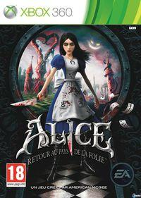 Portada oficial de Alice: Madness Returns para Xbox 360
