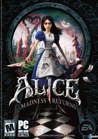 Portada oficial de Alice: Madness Returns para PC