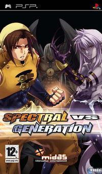 Portada oficial de Spectral vs. Generation para PSP