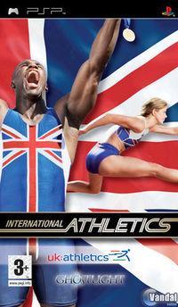 Portada oficial de International Athletics para PSP