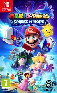 Portada oficial de Mario + Rabbids Sparks of Hope para Switch