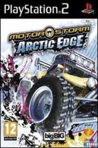 Portada oficial de MotorStorm: Arctic Edge para PS2