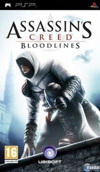 Portada oficial de Assassin's Creed Bloodlines para PSP