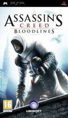 Portada oficial de de Assassin's Creed Bloodlines para PSP