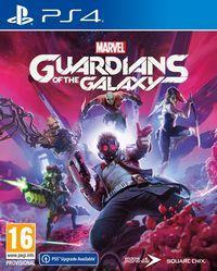 Portada oficial de Marvel's Guardians of the Galaxy para PS4