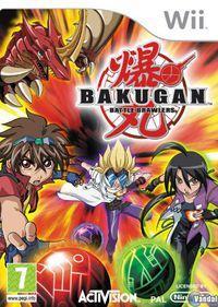 Portada oficial de Bakugan: Battle Brawlers para Wii