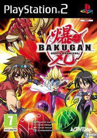 Portada oficial de Bakugan para PS2