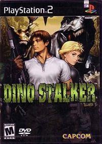 Portada oficial de Dino Stalker para PS2