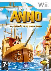Portada oficial de Anno: La Creación de un Nuevo Mundo para Wii
