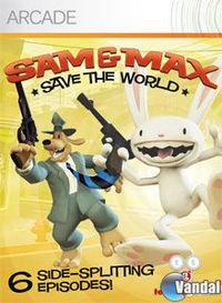 Portada oficial de Sam and Max Save the World XBLA para Xbox 360