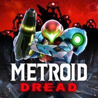 Portada oficial de Metroid Dread para Switch