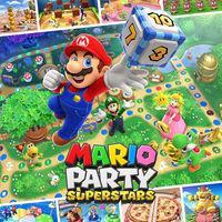 Portada oficial de Mario Party Superstars para Switch