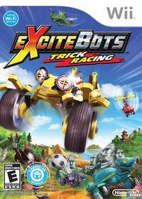 Portada oficial de Excitebots para Wii