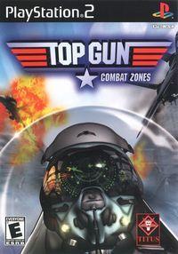 Portada oficial de Top Gun: Combat Zones para PS2