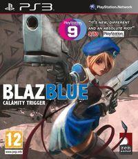 Portada oficial de BlazBlue: Calamity Trigger para PS3