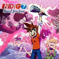 Portada oficial de Indigo 7 Quest for love para Switch