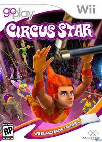 Portada oficial de Go Play Circus Star para Wii