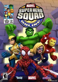 Portada oficial de Marvel Super Hero Squad Online para PC