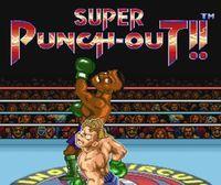 Portada oficial de Super Punch-Out! CV para Wii