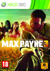 Portada oficial de Max Payne 3 para Xbox 360