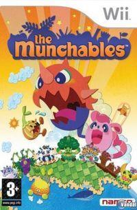 Portada oficial de The Munchables para Wii