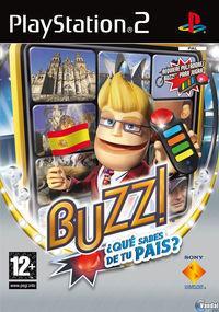 Portada oficial de Buzz: ¿Conoces tu país? para PS2