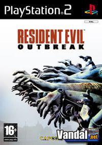 Portada oficial de Resident Evil Outbreak para PS2