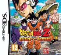 Portada oficial de Dragon Ball Z: Attack of the Saiyans para NDS