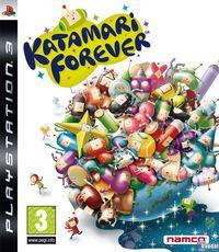 Portada oficial de Katamari Forever para PS3